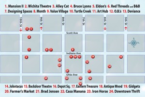 WFTX Culture Crawl Map