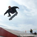 Mikey Kickflip to flat