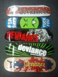 Deviance Re-issue Decks